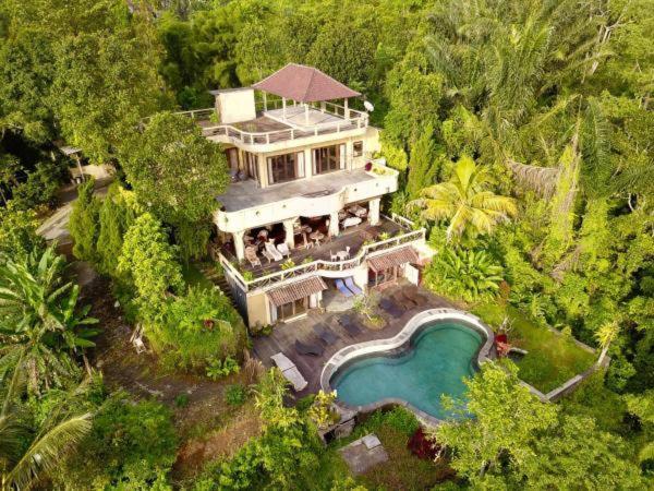 An aerial view of D'wan Tea Mountain Side Villa