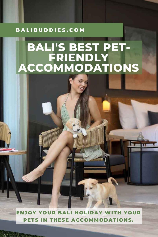 Bali Pet Friendly Accommodations Pin 1