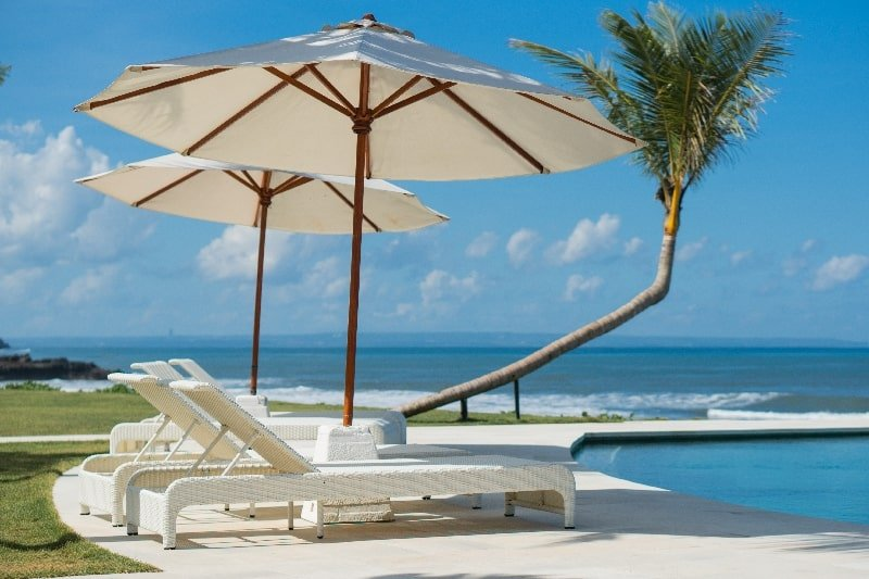 Enjoy the beach with your furry friend at Bali Beach Glamping