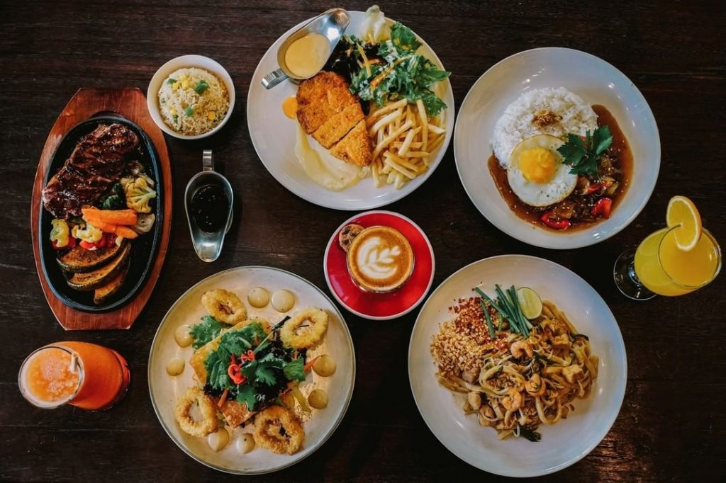 Eat and drink at Two Fat Monks