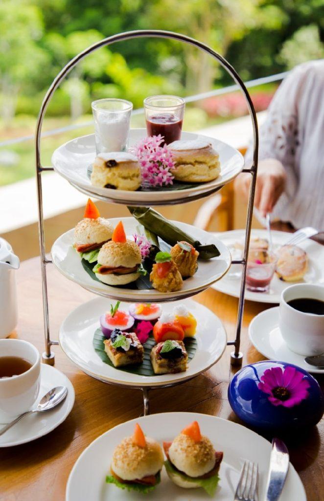 Tea time at Padma Resort Ubud