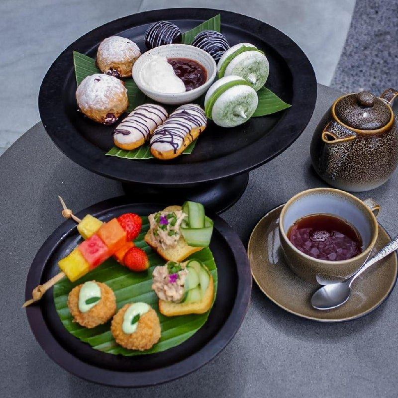 Tea time at The Westin Ubud