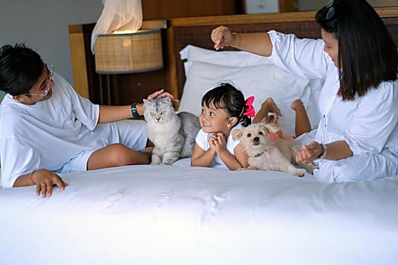 Your family and furbabies will enjoy staying at Six Senses Uluwatu