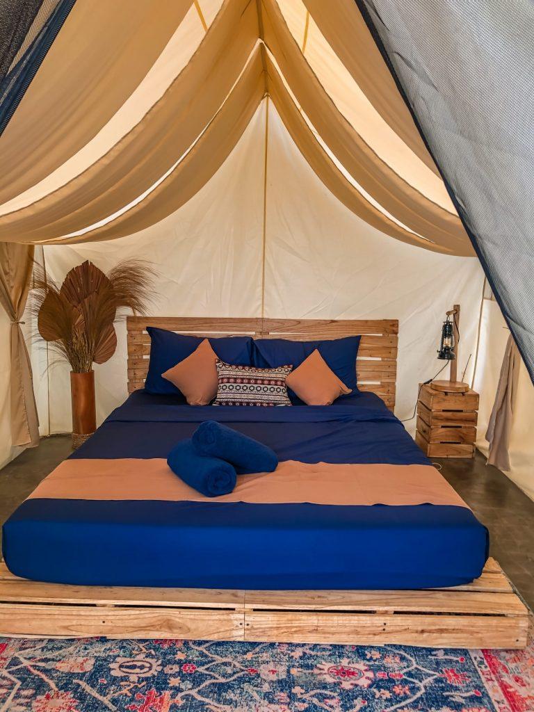 Alam Caldera tent