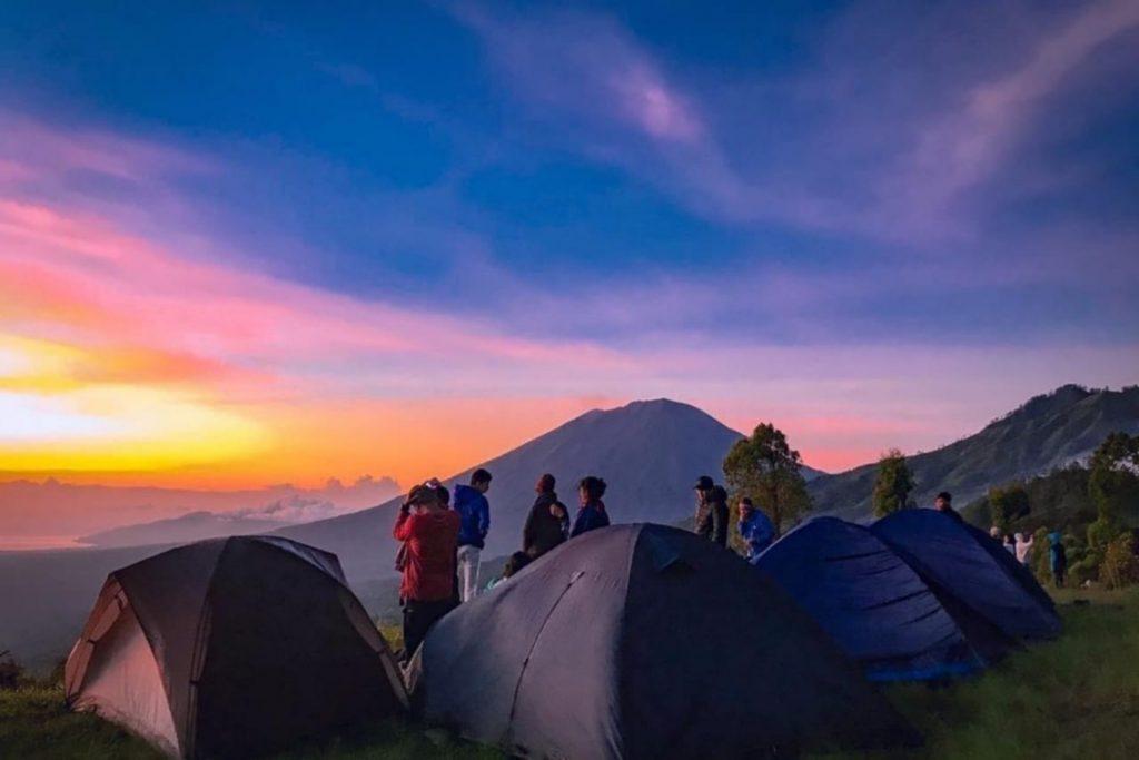 Camping at Alengkong