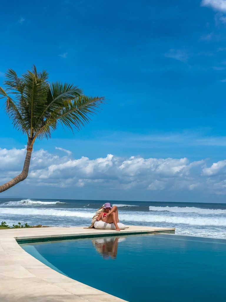 Enjoying nature while glamping at Bali Beach Glamping