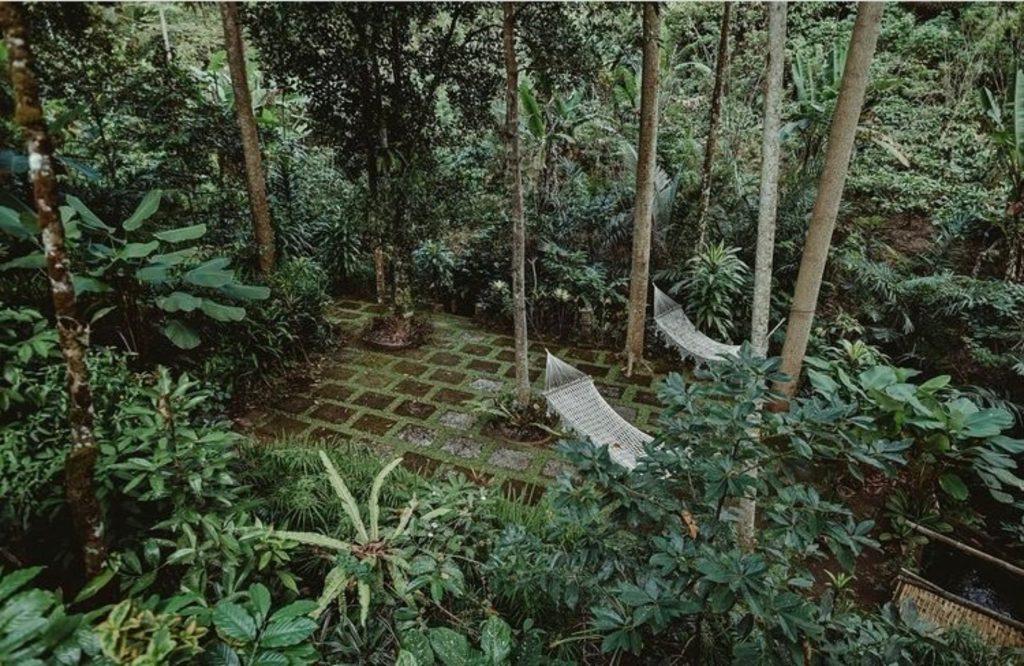 Hammocks at Bali Jungle Camping