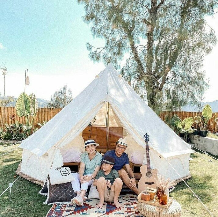 Camp with your family at Sunrise Hill Camp