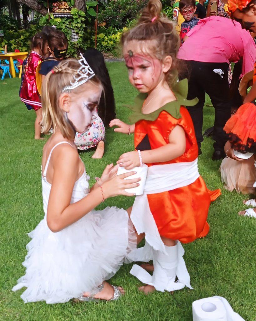 A Halloween Family Party full of joy _ fun at Bali Mandira