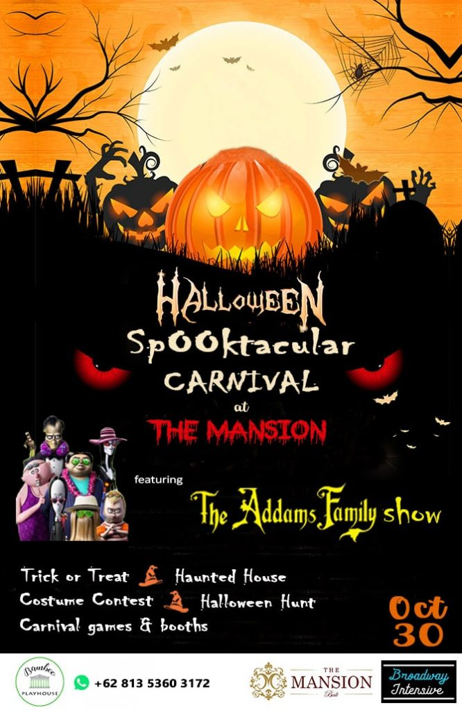 Halloween Spooktacular Carnival at The Mansion