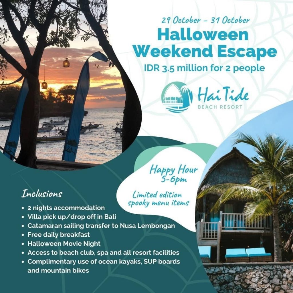 Halloween Weekend Escape at Bali Hai Nusa Lambongan