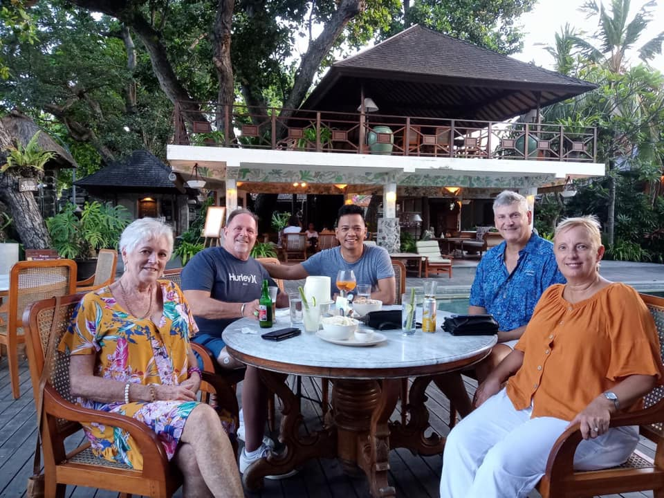 New friends in Bali