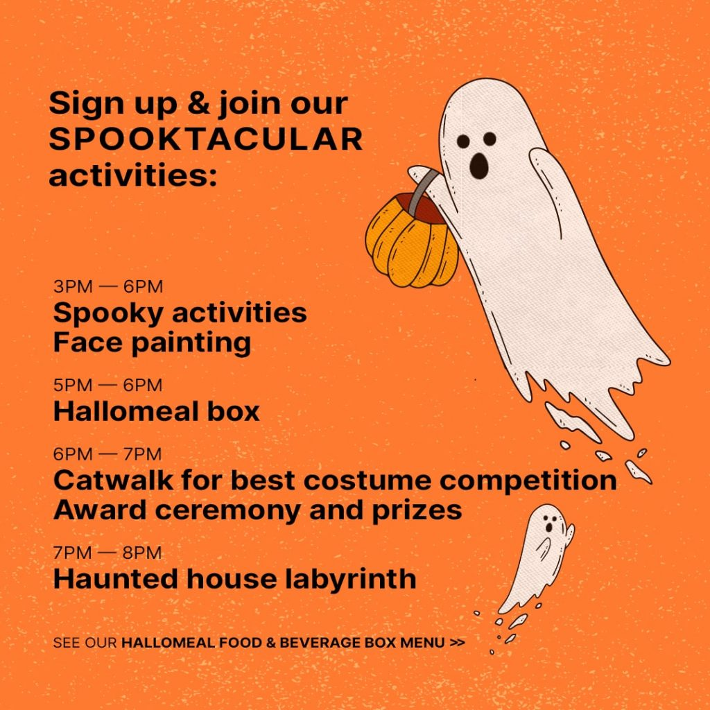 Sign up and join the Spooktacular activities