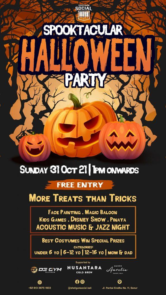 Spooktacular Halloween Party at Shotgun Social