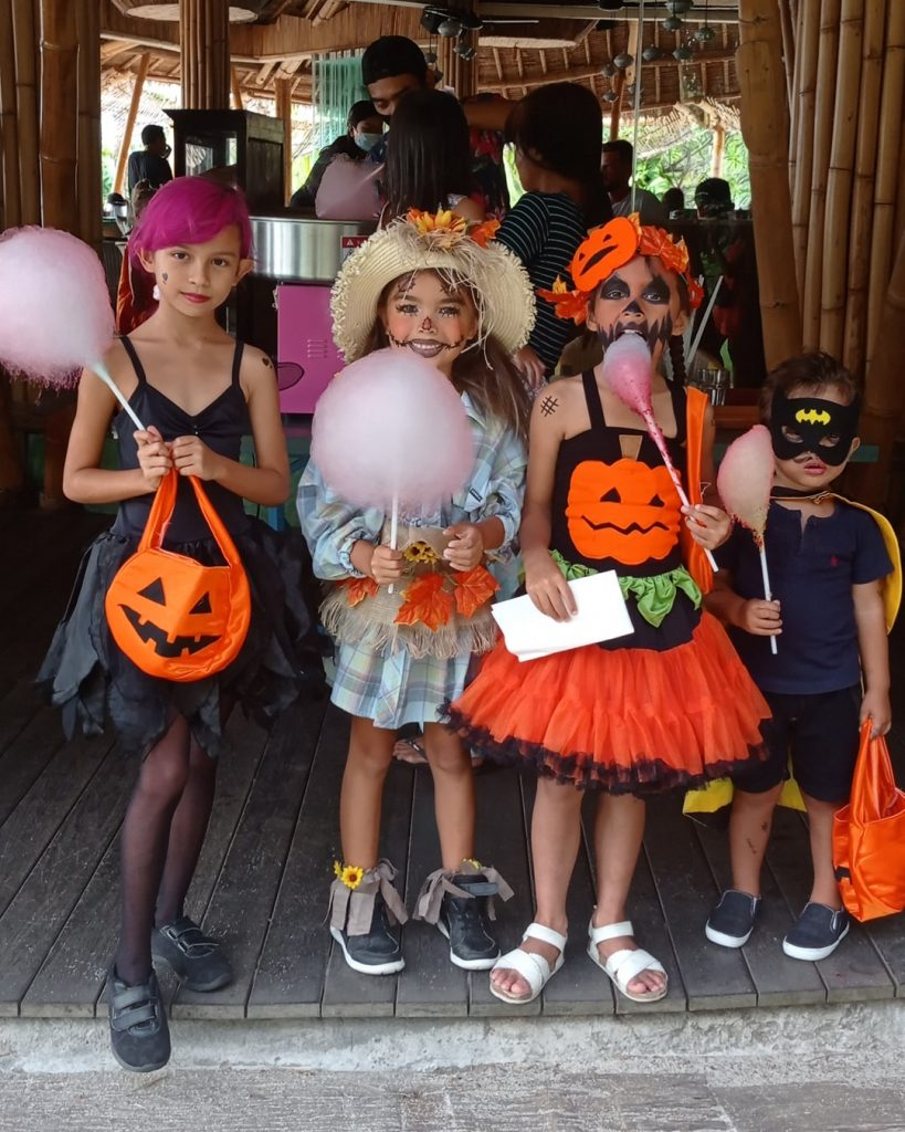 This Halloween, take your family out for some wicked fun and join some spooky thrills at Bali Mandira