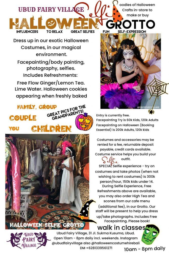 Ubud Fairy Village Halloween Grotto