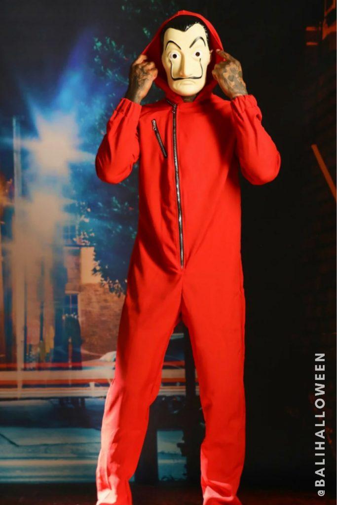 Wear Money Heist Costume from BALI HALLOWEEN 2021 AT GENERAL STORE BALI