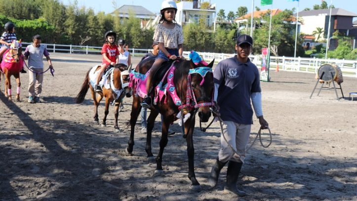 things to do in bali kids - Kids at Bali Equestrian Centre