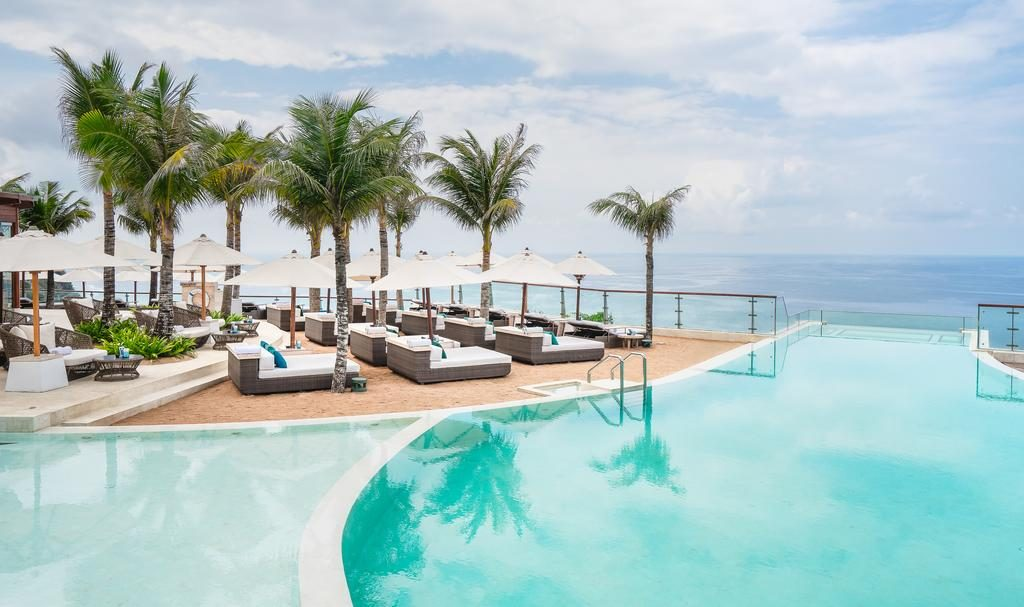 Sundeck at oneeighty day club Bali